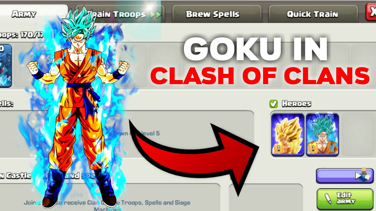 Download Clash Of Clans Private Server v10.322.10 [Goku in COC]