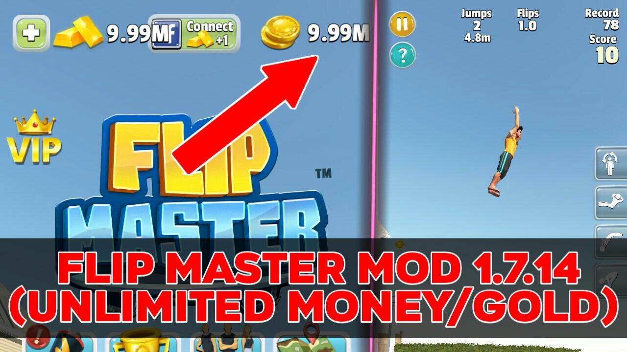 Flip Master MOD APK 1.7.14 (Unlimited Money/Gold)
