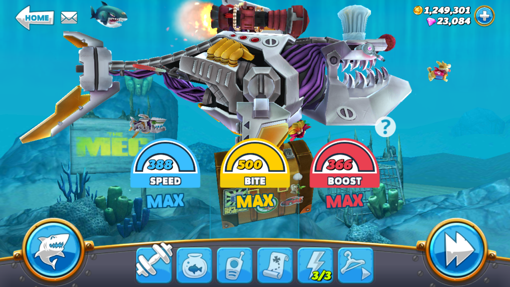 Hungry Shark World MOD APK 3.1.2 (Unlimited Money)