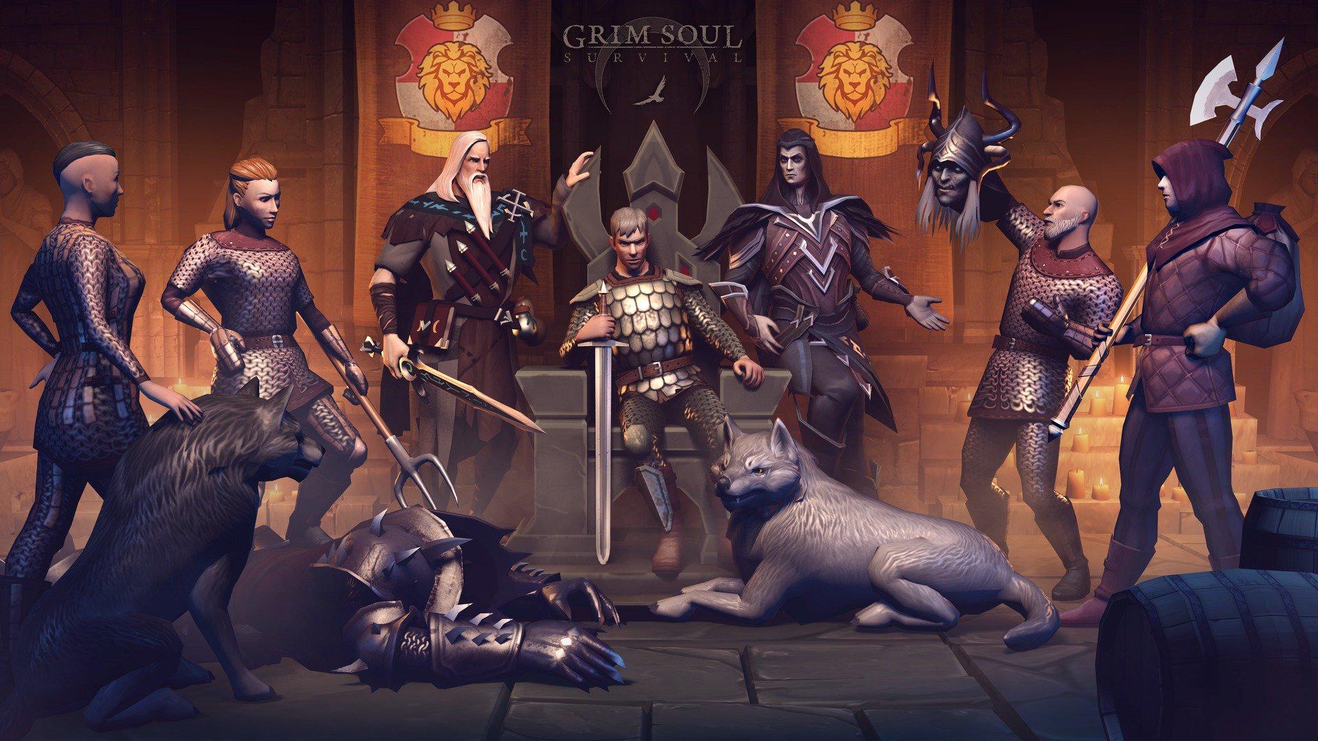 Grim Soul Dark Fantasy Survival MOD APK