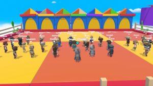 Fall Dudes 3D Game Apk
