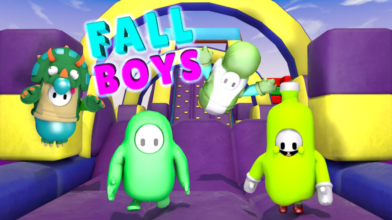 Fall Boys Game APK