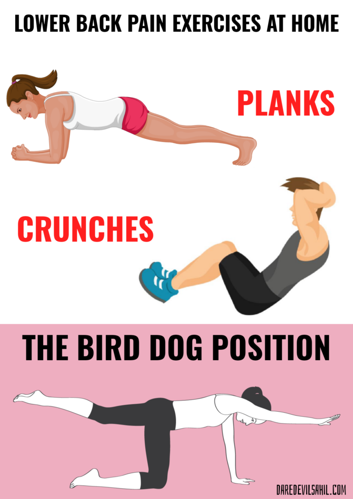 Lower Back Pain Exercises at Home