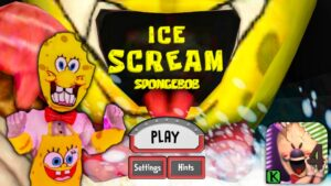 ICE SCREAM 4 SPONGEBOB MOD